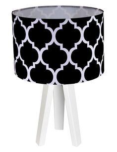 Lampe de chevet Noir et Blanc Collection CLASSIC - par BPS Koncept