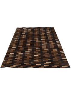 Tapis chalet cuir marron BLAKISTON - par J-Line