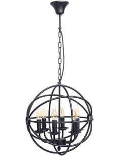 Suspension ANGLIERS collection Country - par MW-LIGHT