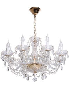 Lustre AMBACOURT collection Crystal - par MW-LIGHT