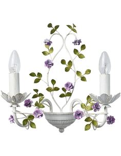 Applique ANTHENY collection Flora - par MW-LIGHT