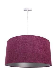 Suspension GLAMOUR Velour Violet avec Intérieur Argenté - par BPS Koncept