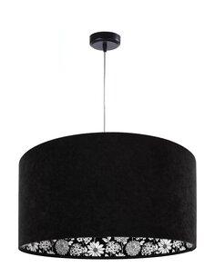 Suspension MODERN Velour Noir avec Motif Intérieur - par BPS Koncept