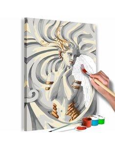 Tableau à peindre soi même MÉDUSE - par Artgeist