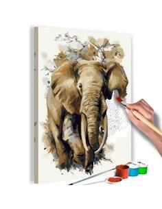 Tableau à peindre soi même BEAUTIFUL GIANT - par Artgeist