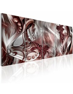Tableau XXL Smoky Abstraction Tableaux Abstraction Modernes Artgeist