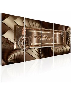 Tableau XXL Chocolate Harmony Tableaux Abstraction Modernes Artgeist