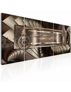 Tableau MECHANICAL STAIRS - par Artgeist