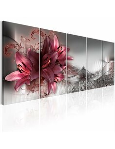 Tableau XXL Timeless Flowers Tableaux Abstraction Fleurs et plantes Artgeist