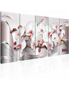 Tableau XXL Wonderful Orchids Tableaux Abstraction Fleurs et plantes Artgeist