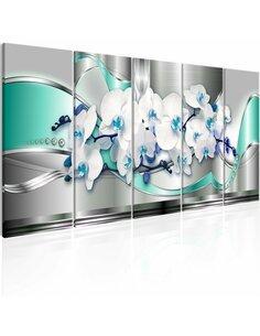 Tableau XXL Elegant Decorations Tableaux Abstraction Fleurs et plantes Artgeist