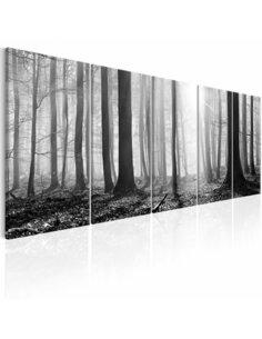 Tableau MONOCHROME FOREST - par Artgeist