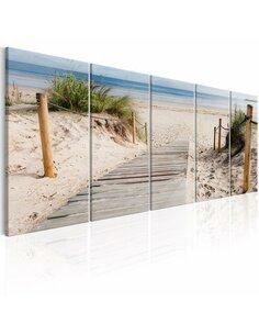 Tableau BEACH AFTER RAIN - par Artgeist