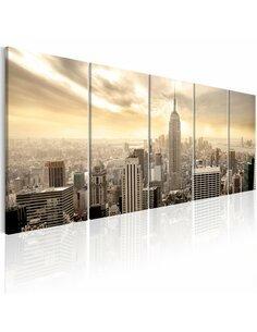Tableau NEW YORK: VIEW ON MANHATTAN - par Artgeist