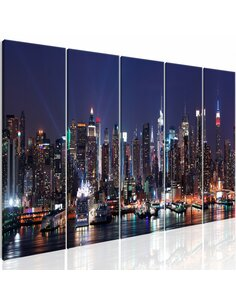 Tableau NEW YORK: LIVE BY NIGHT - par Artgeist