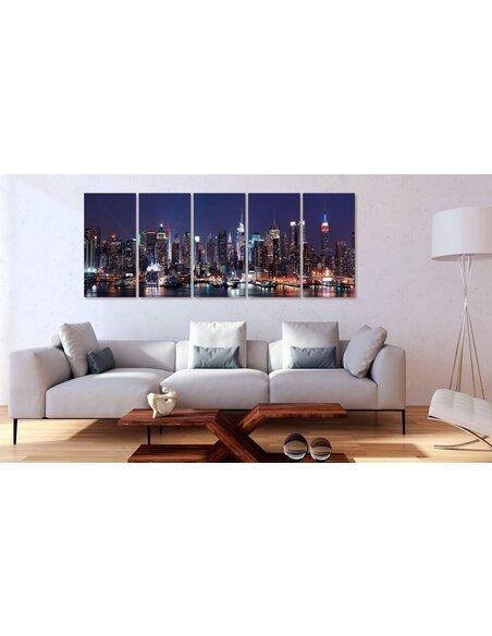 Tableau NEW YORK: LIVE BY NIGHT - par Artgeist