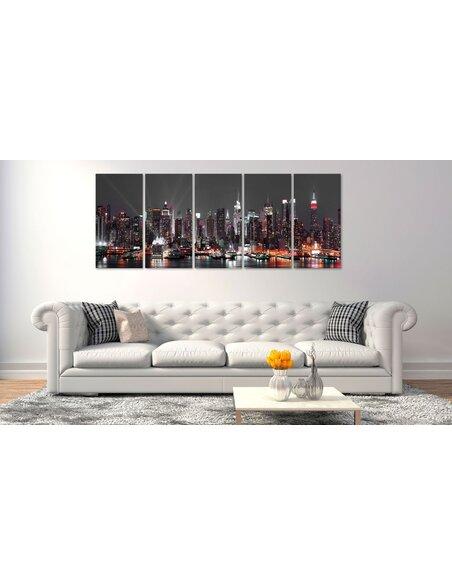 Tableau NEW YORK: INSOMNIA - par Artgeist