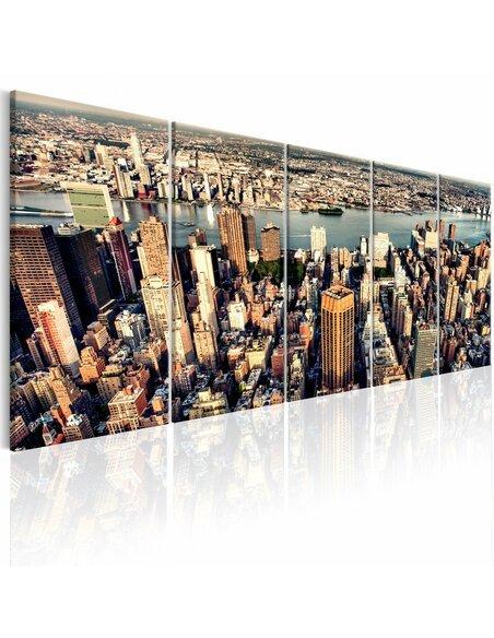 Tableau FLIGHT OVER NEW YORK - par Artgeist