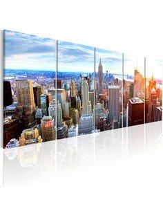 Tableau NEW YORK: SUNRISE - par Artgeist