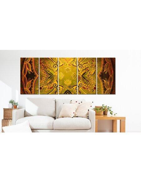 Tableau MANDALA: FLOWERY WINGS - par Artgeist