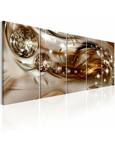 Tableau XXL Shining Bullets Tableaux Abstraction Modernes Artgeist