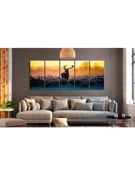 Tableau XXL Winter Afternoon Tableaux Animaux Animaux divers Artgeist