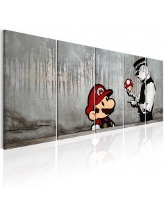 Tableau MARIO BROS ON CONCRETE - par Artgeist