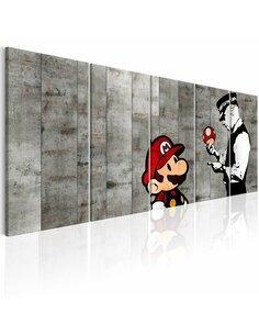 Tableau GRAFFITI ON CONCRETE - par Artgeist