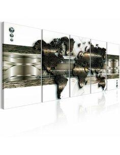 Tableau WORLD MAP: NEW TECHNOLOGIES - par Artgeist
