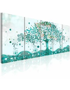 Tableau XXL Waving Tree Tableaux Abstraction Modernes Artgeist