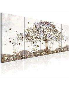 Tableau GEOMETRIC TREE - par Artgeist