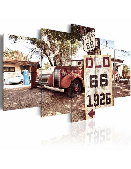 Tableau CALIFORNIA Vintage STYLE - par Artgeist
