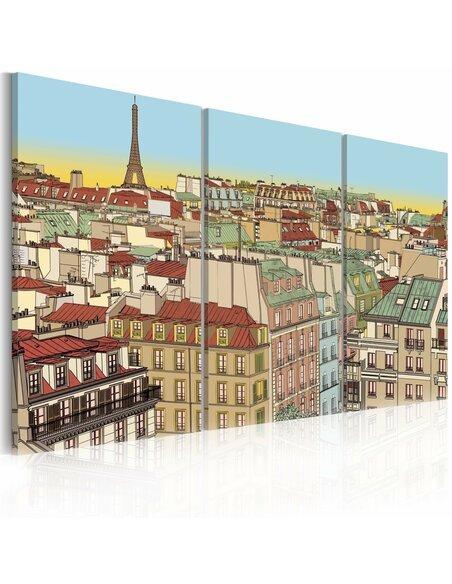 Tableau DOUCE PARIS - par Artgeist