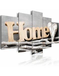 Tableau HOME: FOREST COTTAGE - par Artgeist