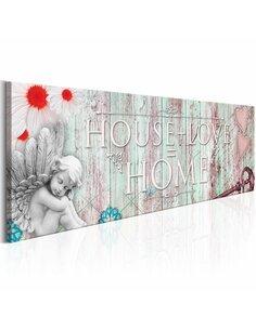 Tableau HOME: HOUSE + LOVE - par Artgeist