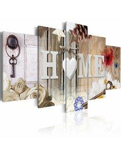 Tableau HOME: RANGE OF VARIETY - par Artgeist