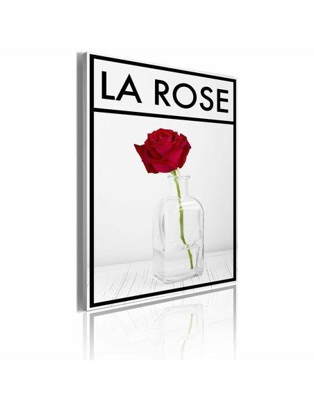 Tableau LA ROSE - par Artgeist