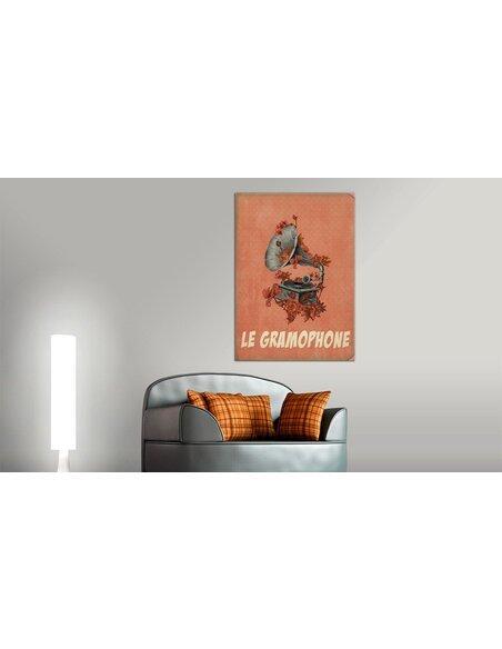 Tableau LE GRAMOPHONE - par Artgeist