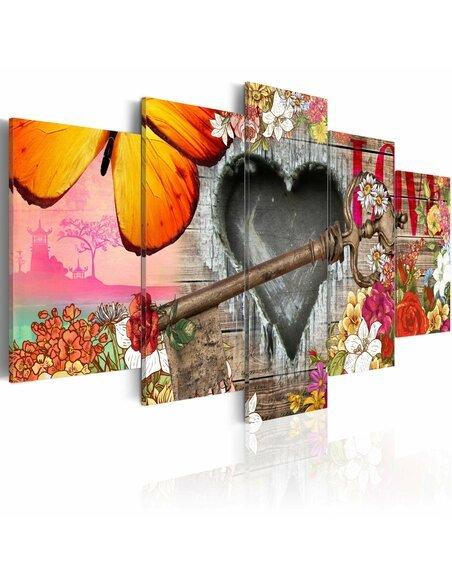 Tableau LOVE TRAILER - par Artgeist