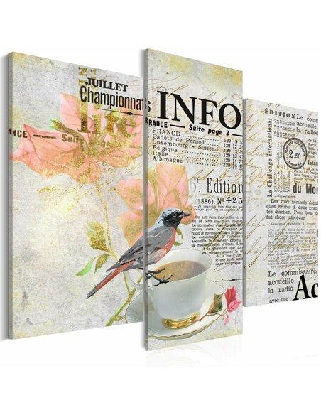 Tableau MORNING NEWSPAPER - par Artgeist