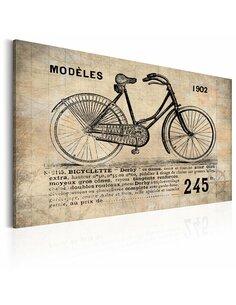 Tableau N° 1245 BICYCLETTE - par Artgeist