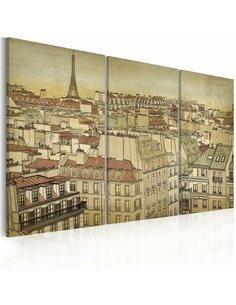 Tableau PARIS VILLE DE L'HARMONIE - par Artgeist