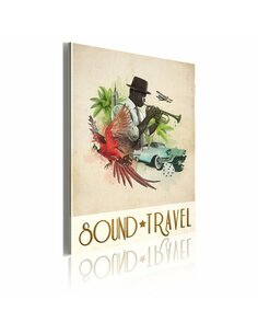 Tableau SOUND&TRAVEL - par Artgeist