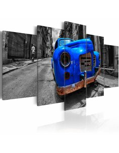 Tableau TIMELESS CLASSIC BLUE - par Artgeist