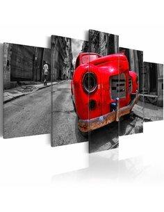 Tableau TIMELESS CLASSIC RED - par Artgeist