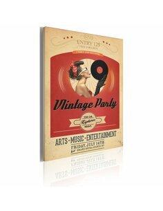 Tableau Vintage PARTY - par Artgeist