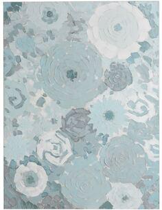 Peinture Fleurs Abstrait BOLONG - par J-Line