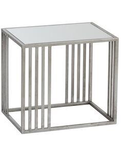 x2 Table Gigogne carrée Argent BOOKHAM - par J-Line