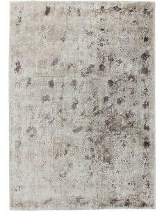 Tapis fait à la main NAMIBIE Argent OTAVI - par Arte Espina