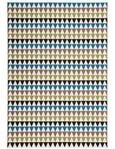 Tapis tissé 500 Multicolore Vert - par Arte Espina